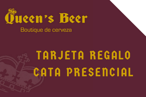 Tarjeta regalo Queen's Beer Cata presencial
